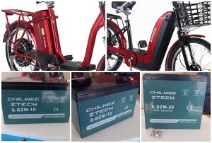 tipuri de baterii bicicleta electrica