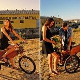 tricicleta lemn portugalia