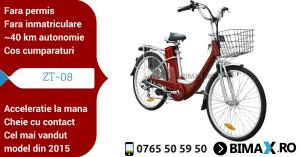 Bicicleta ZT-08 electrica