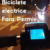 Biciclete electrice fara permis
