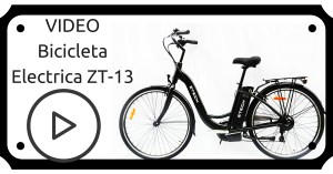 VIDEO Bicicleta electrica ZT-13