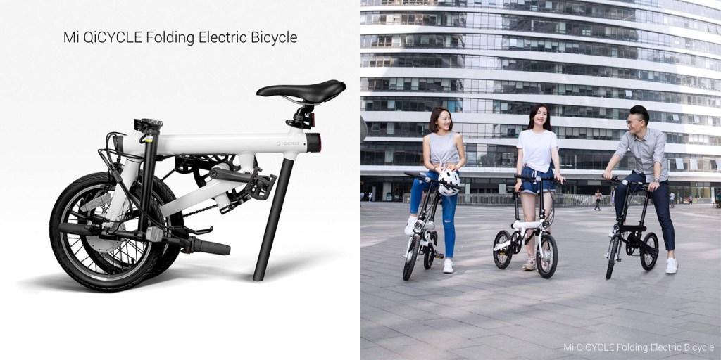QiCYCLE bicicleta electrica pliabila