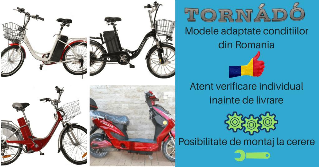 biciclete electrice tornado