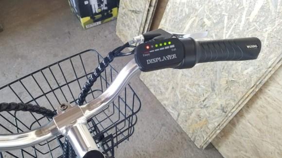indicator baterie bicicleta electrica