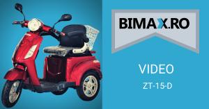 video tricicleta electrica zt-15d