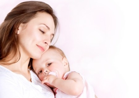 mamma e bimba
