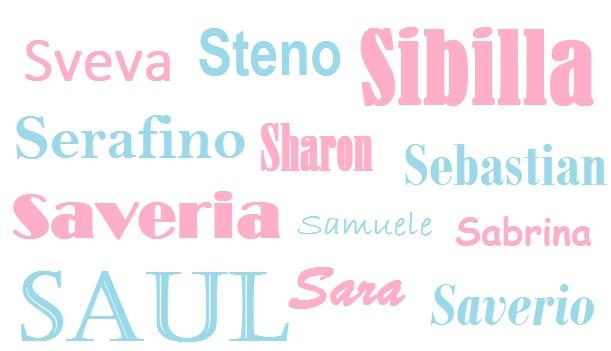 I Nomi Per I Bambini Origine Significato E Onomastico Lettera S
