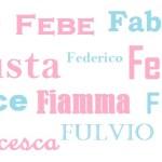 I nomi per i bambini: origine, significato e onomastico – lettera F