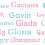 I nomi per i bambini: origine, significato e onomastico – lettera G