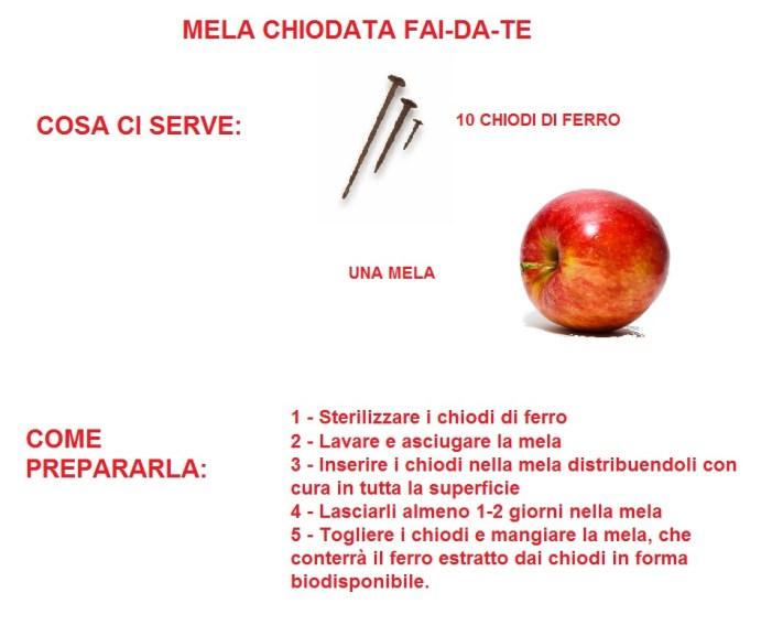 mela chiodata istruzioni