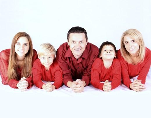 famiglia bambini genitori