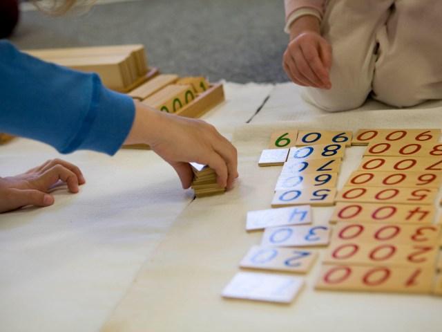 Bambini più bravi col metodo Montessori
