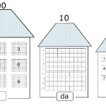 Materiali didattici: La casa di unità decine e centinaia