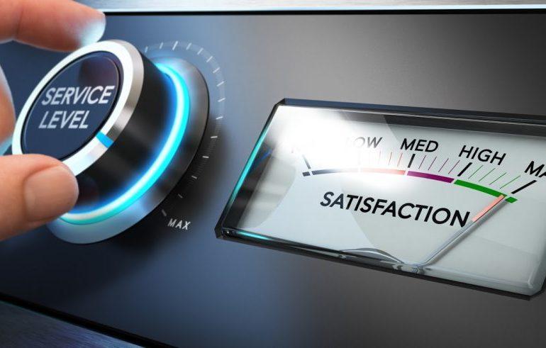 Medidor de satisfação do cliente