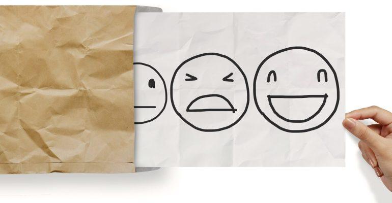Imagem indicando nível de satisfação do cliente