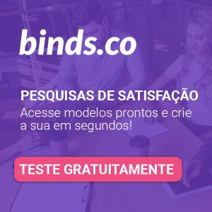 Clique e teste gratuitamente a plataforma binds.co