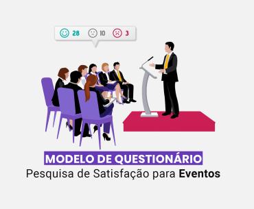 modelo de questionário para eventos