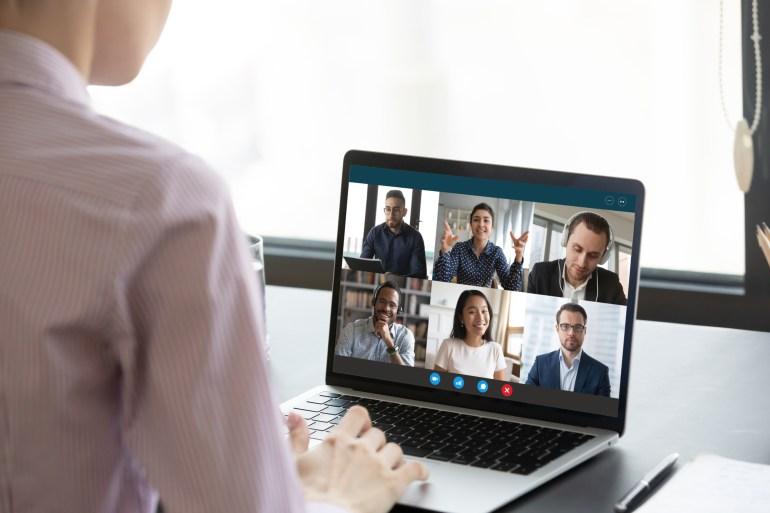 Videoconferência no trabalho remoto
