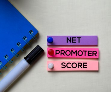 Post it escrito Net Promoter Score
