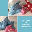 """Delfin, genäht von Margaretes Handmadebox nach meiner Anleitung """"Dolli Delfin""""   binenstich.de"""