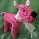 """Häkelhund Helga von Christine, nach meinem E-Book """"Häkelhund Paul""""   binenstich.de"""