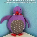 "Pelli Pinguin, genäht von Karin, schoendingesonnenblume.blogspot.de, nach dem binenstich-E-Book ""Pelli Pinguin""   binenstich.de"