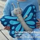 """Schmetterling, genäht von DODO nach dem binenstich-Ebook """"Siri Schmetterling""""   binenstich.de"""