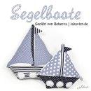 Segelboote, genäht von Rebecca   jakaster.de