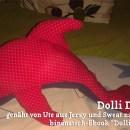 """Delfin, genäht von Ute, genäht nach dem binenstich-Ebook """"Dolli Delfin"""""""
