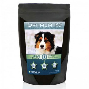 BioStar's K9 Optimum Senior: Whole Food Suplement for Feeding an Older Dog