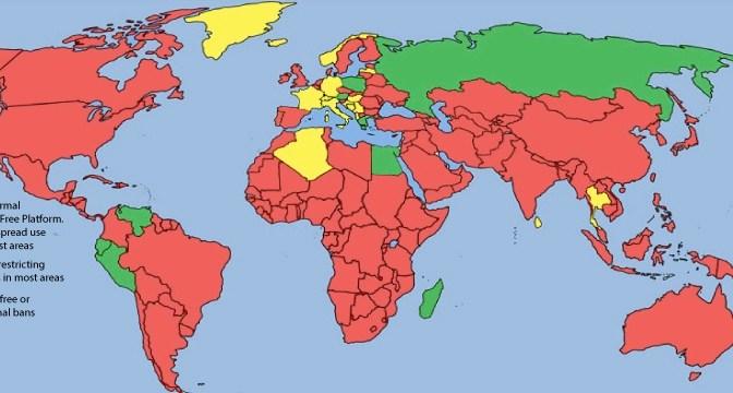 GMO World Map