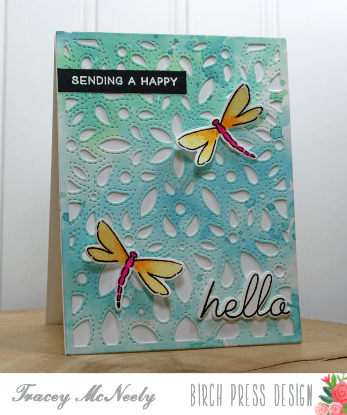 Make a Statement clear stamp set