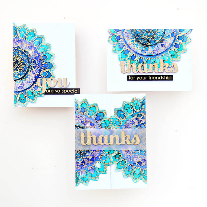 Thankful Mandala Stencil Set