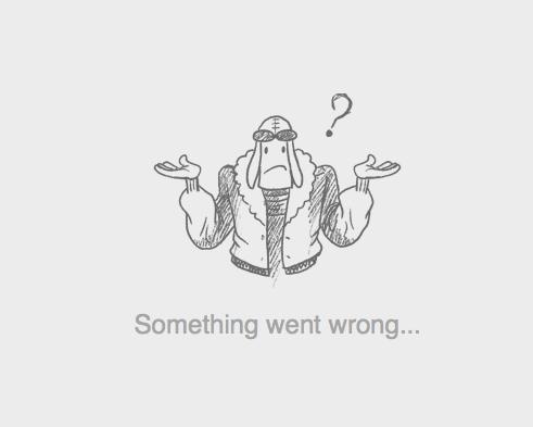 Something went wrong...