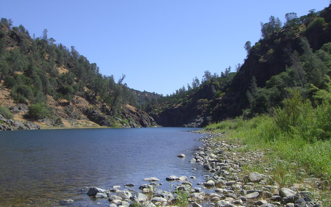 On the Yuba River