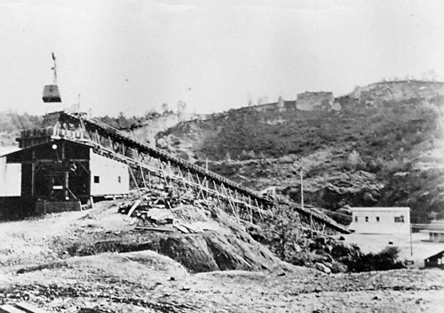 Tarr Mine conveyor belt
