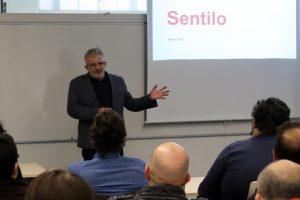 Presentant en Jordi Cirera a l'UIB