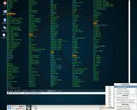 pantallada d'un escriptori amb el Yakuake