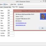 QFG Character Editor - Screenshot 4