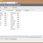 QFG Character Editor - Screenshot 6
