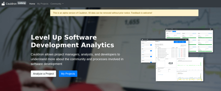 Screenshot_2020-04-29 Level up Software Development Analytics - Cauldron