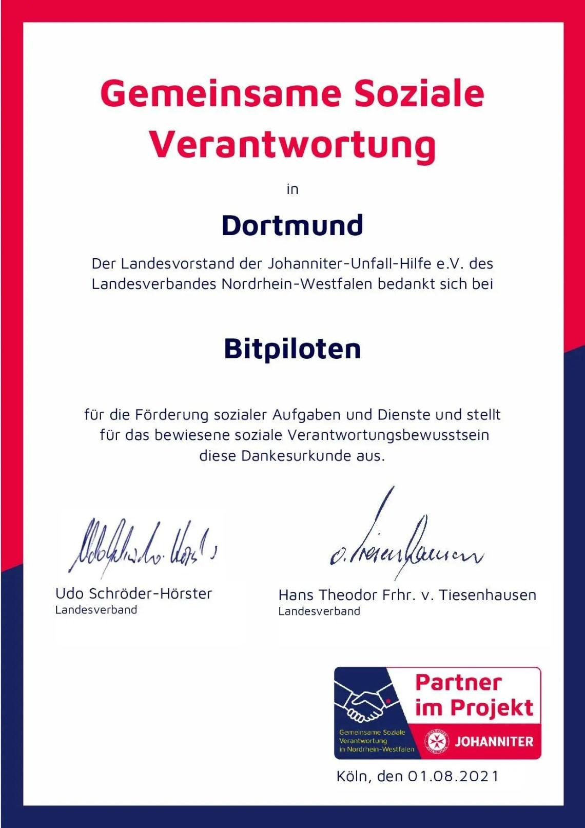 bitpiloten & Johanniter