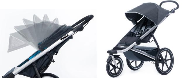 carritos para córrer con bebé