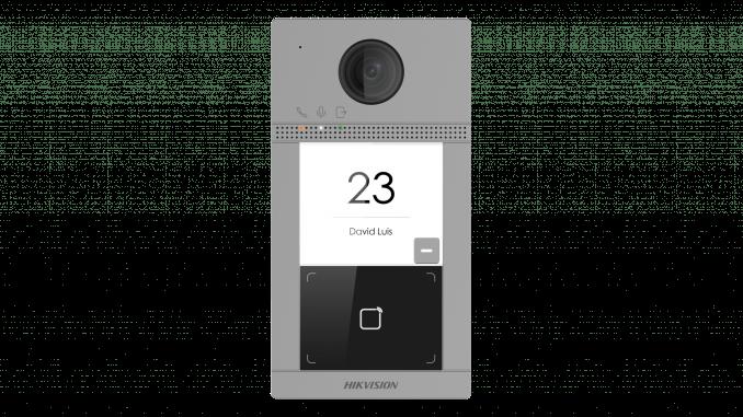 Hikvision kaputelefon újdonságok 1