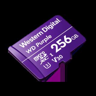 Western Digital microSD 256GB Purple memóriakártya