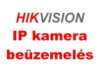 Hikvision IP kamera beüzemelése az SADP eszközzel 7