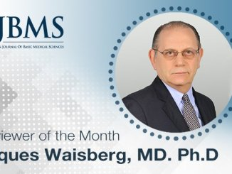 The Reviewer of the Month for December 2020: Dr. Jaques Waisberg