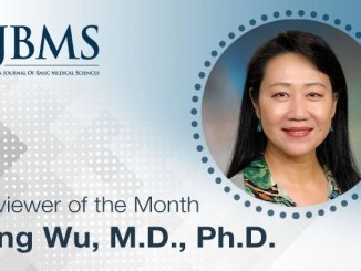 The Reviewer of the Month for October 2021: Dr. Ping Wu