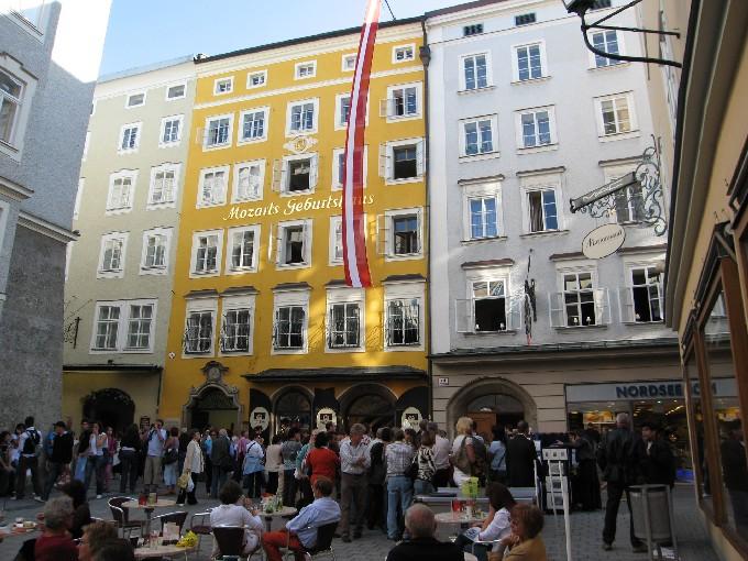 Mozart Birthplace Salzburg