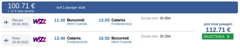 Bucuresti-Catania